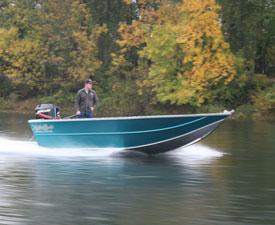 Koffler's Sled Boat - Jet Boat - Aluminum Power Boats