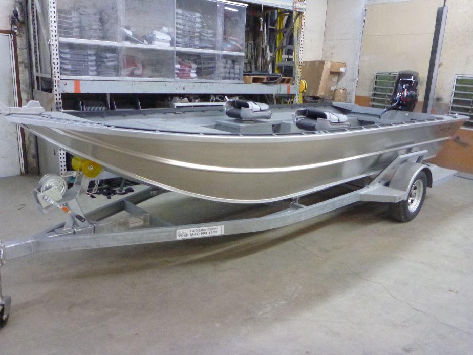 New Aluminum Power Sled Boat Drifter By Koffler Boats