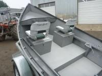 Aluminum 17 X 54 Quot Koffler High Side Drift Boat Koffler