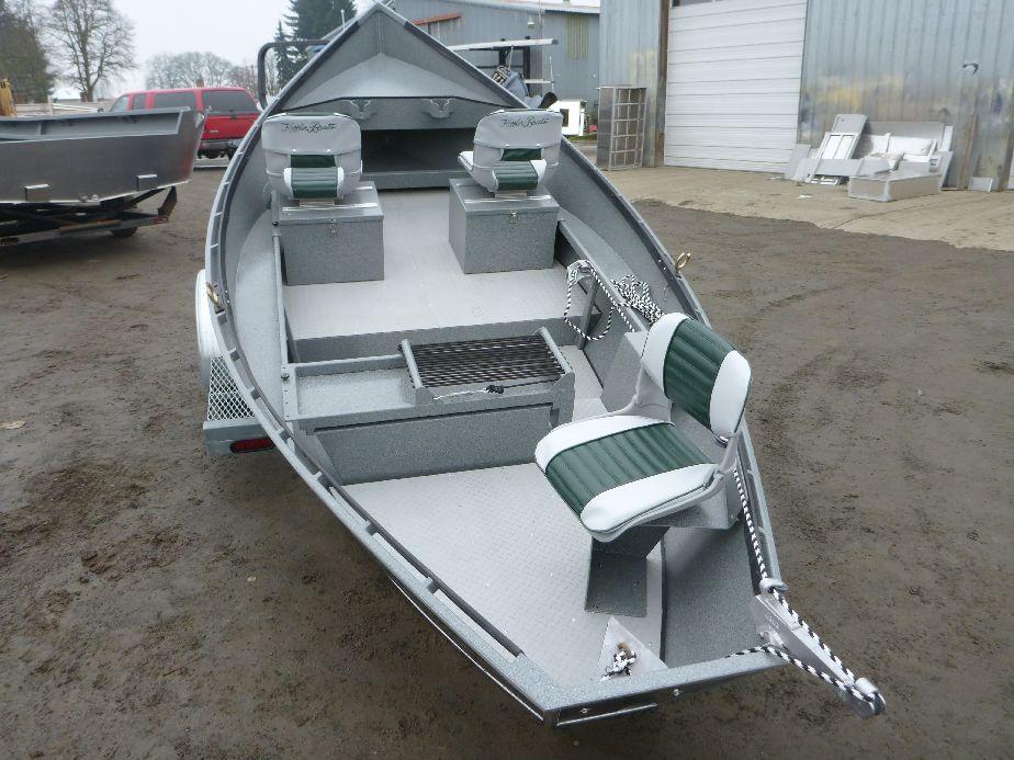 Aluminum 17 39 X 54 Koffler High Side Drift Boat Koffler