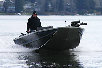 Koffler Sled Boat - Power Boat