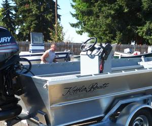 Koffler Boats Aluminum Jet Drifter Power Boat Fishing Boats