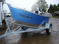 Koffler's Galvanized Aluminum Boat Trailer