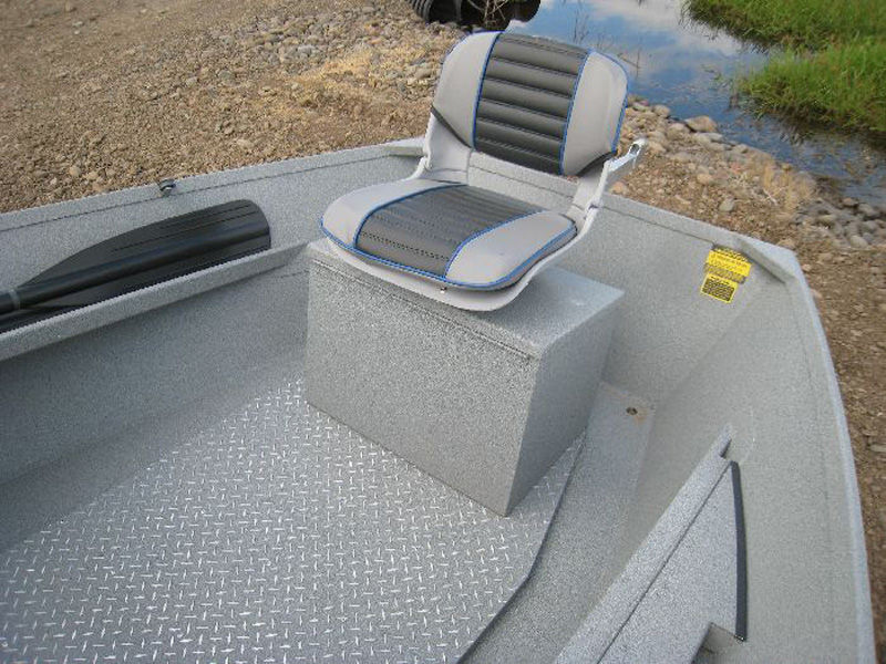 Pedestal Box Storage with Seat & Koffler Boats - White Water Pram Seating u0026 Storage Options   Koffler ...