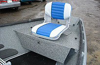 Drift Boat Rear Seating Options