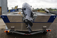 Power Boats Splash Guard Options