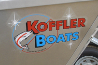 Power Boat Sticker Color Options