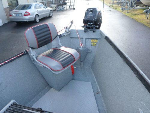 Recessed Outboard Operator Seat