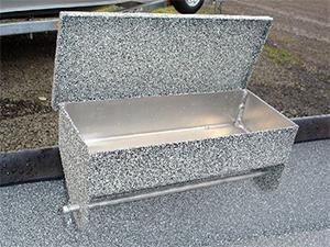 Power Boat Bait Box (Open)