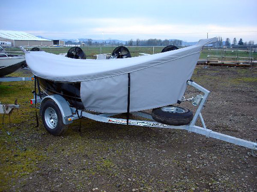 Basic Boat Cover with Towing Bra