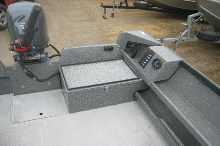 Koffler Boats Power Boat Battery Box Option Koffler Boats