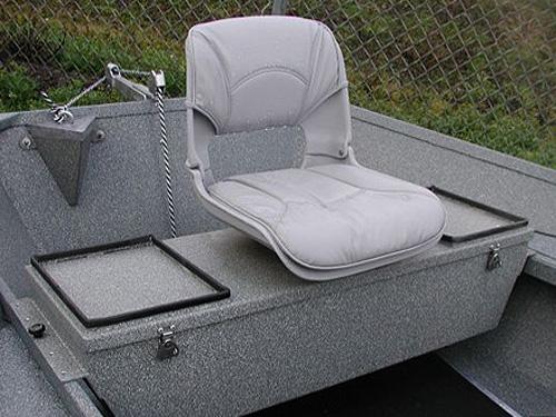 Koffler Boats - Rocky Mountain Trout Boat Oarsman Seat ...