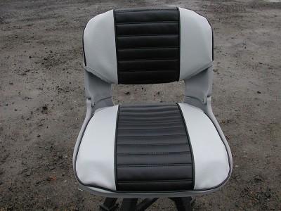 Mist & Black Seat Pad