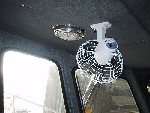 Cabin Circulation Fan