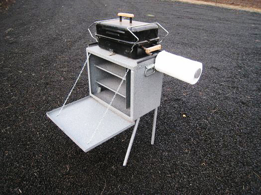 Koffler's Small Camp Kitchen Assembled (Open)