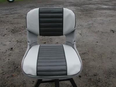 Mist & Graphite Seat Pad