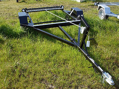 Koffler Boats Rocky Mountain Trout Boat Trailer Options