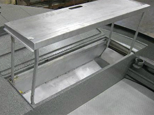 Power Boat Filet Table Constructed