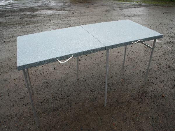 Koffler's Folding Table Assembled