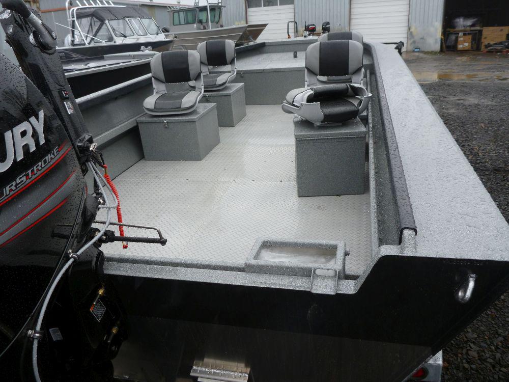 Power Boat Gunnel Options