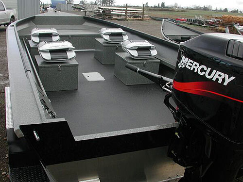 Power Boat Formed Gunnels