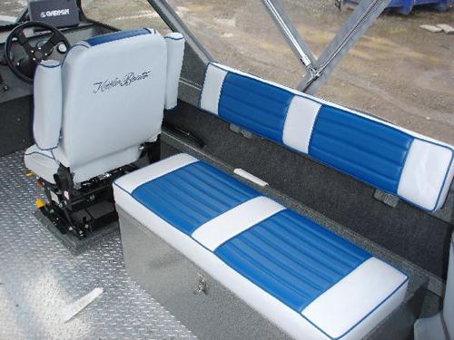 Long Storage Box With Springride Seat