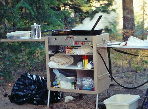 Camping Koffler Style - Pack Kitchen