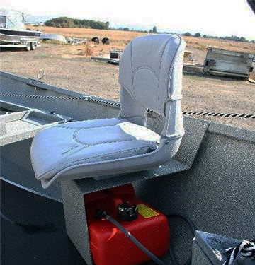 Recessed Outboard Seat