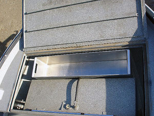 Power Boats Removable Fish Box