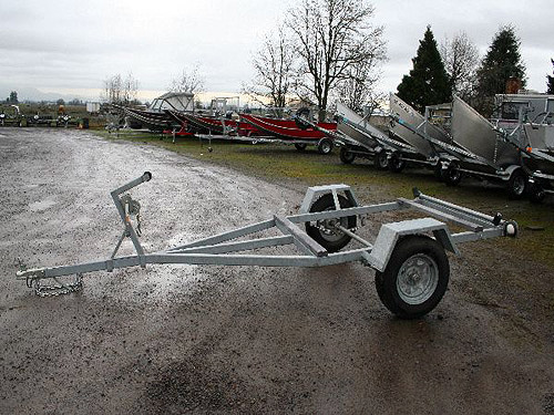 Standard Galvanized Trailer