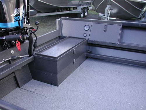 Power Boat Transom Storage