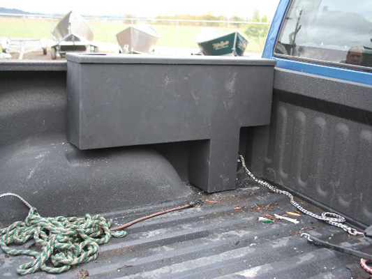 Koffler's Truck Wheel Well Tool Box