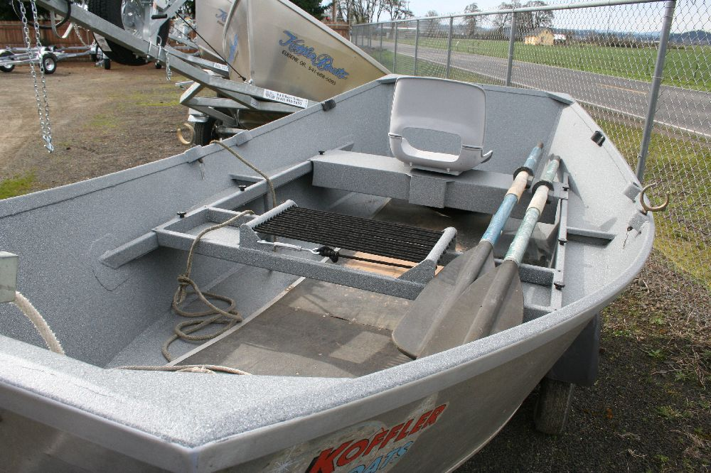 Used 12 aluminum fishing boat for sale koffler boats for Used aluminum fishing boats for sale in michigan