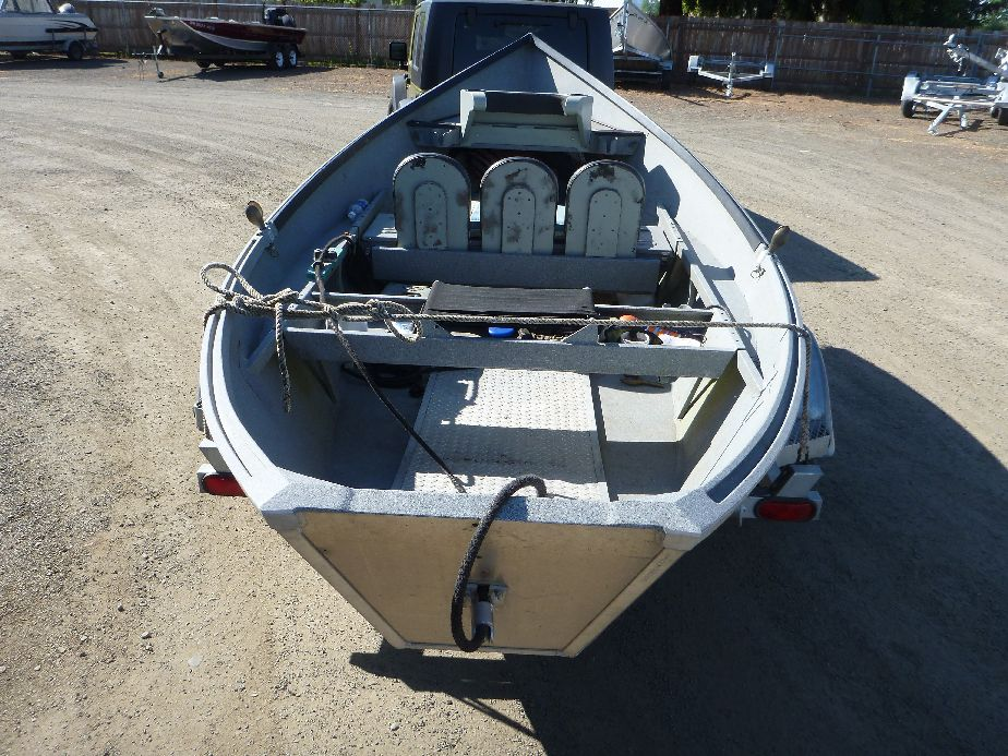 Used willie aluminum fishing boat for sale koffler boats for Used fishing boats
