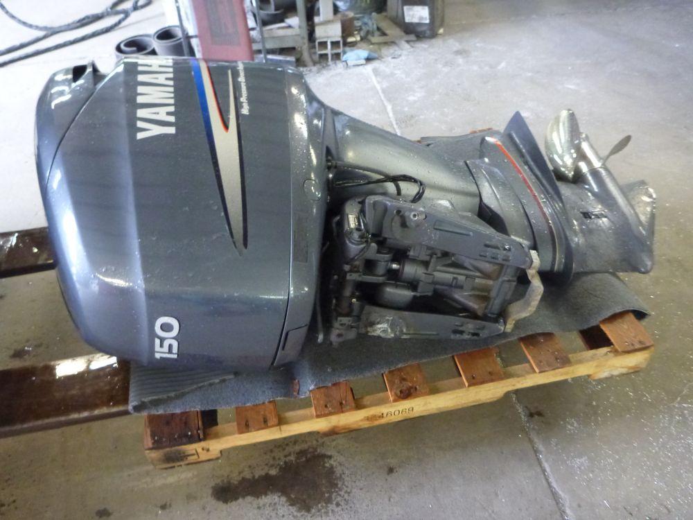 2005 used 150hp yamaha 2 stroke koffler boats for Yamaha 150 2 stroke