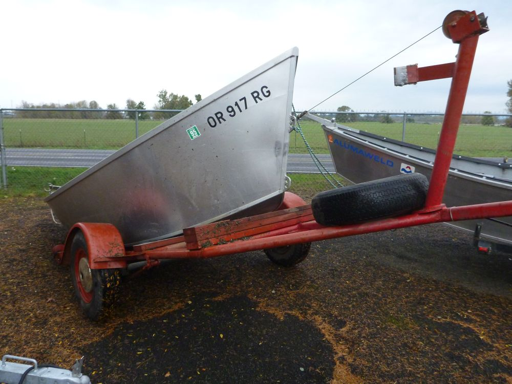 Used 1988 16' Koffler Drift Boat for Sale | Koffler Boats
