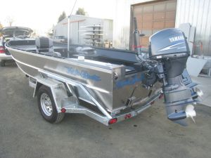 17′ x 66″ Sled Boat Tiller Model