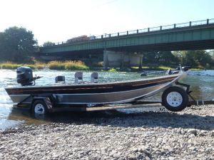 20″ x 72″ Sled Boat Tiller Model