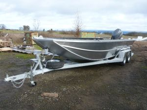 20′ x 72″ Sled Boat Tiller Model
