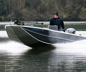 Sled Boat Tiller Model