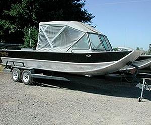 Koffler's Sled Boat - Jet Boat - Aluminum Power Boats | Koffler Boats