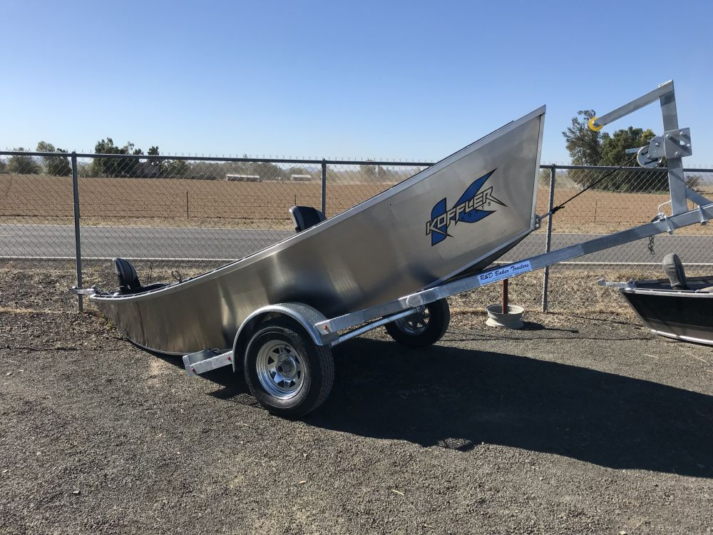 2018 17′ x 54″ Koffler Drift Boat