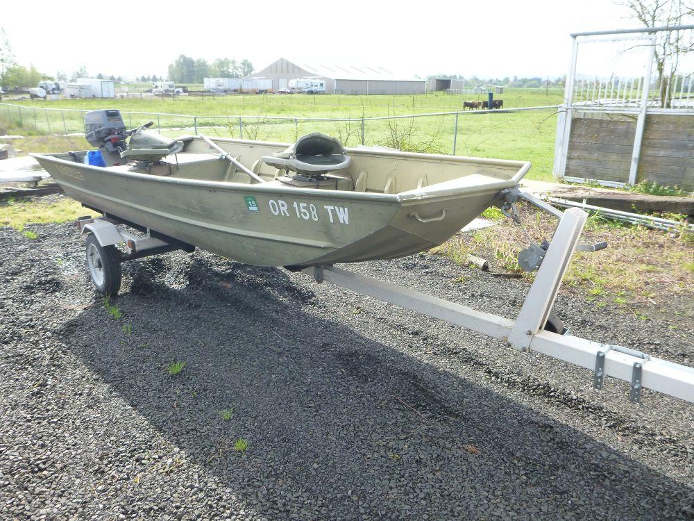 1991 Lowe Duck Boat