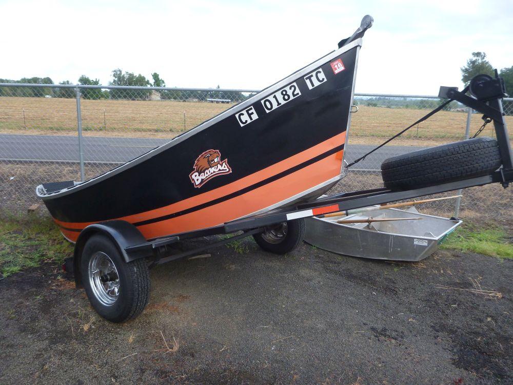 1982 16′ x 48″ Alumaweld Drift Boat