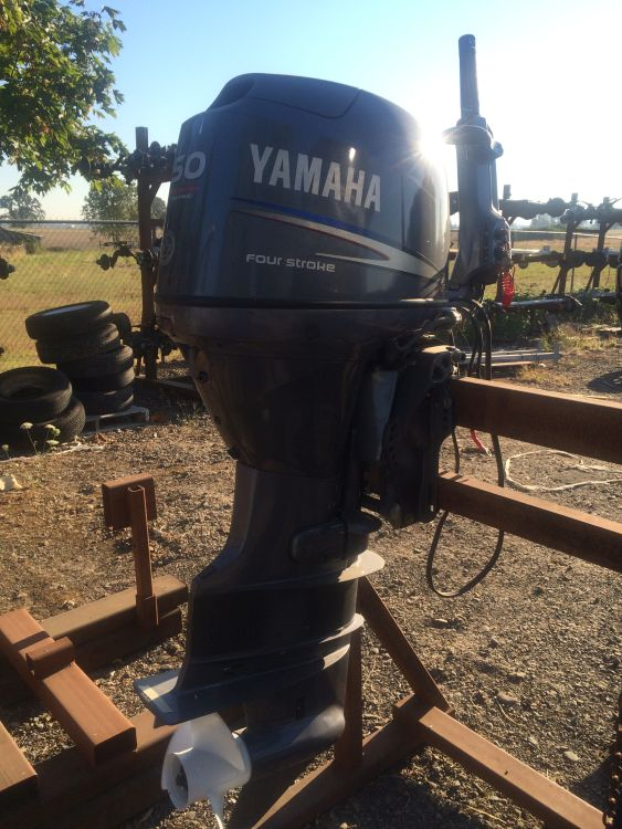 2010 USED 50HP Yamaha