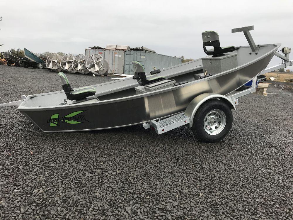 2018 14 X 54 Quot Rocky Mt Trout Boat Koffler Boats