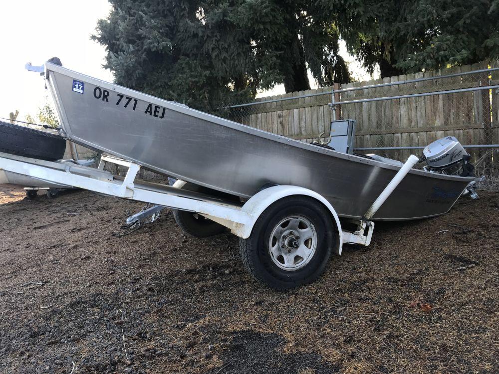 2012 14′ x 54″ Rocky Mt. Trout Boat