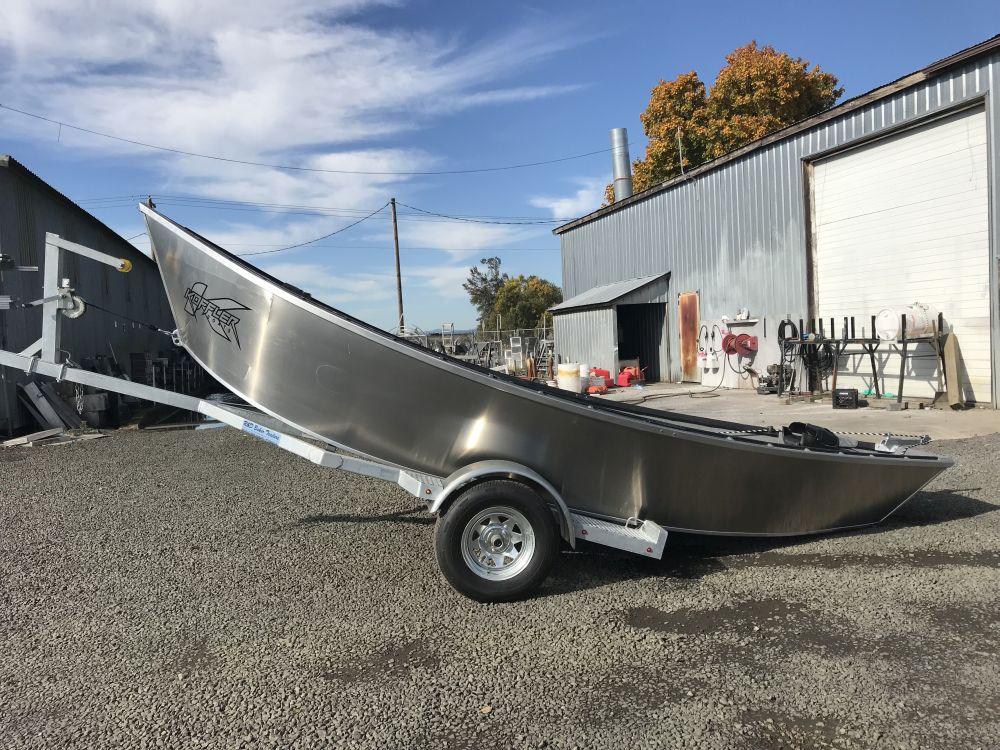 2018 18′ x 60″ Koffler Drift Boat