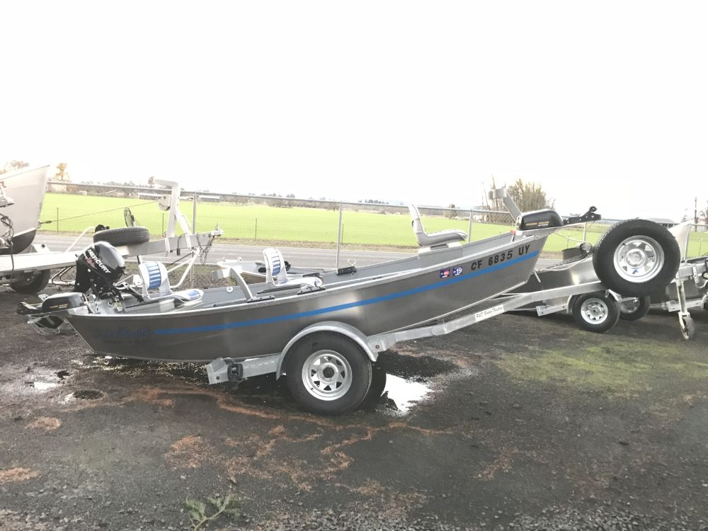 2014 14′ x 54″ Rocky Mt. Trout Boat