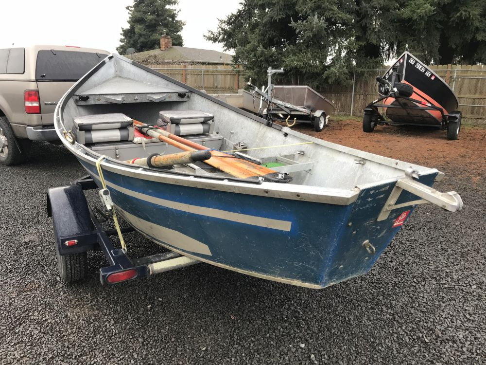 1974 16 x 48″ Alumaweld Drift Boat